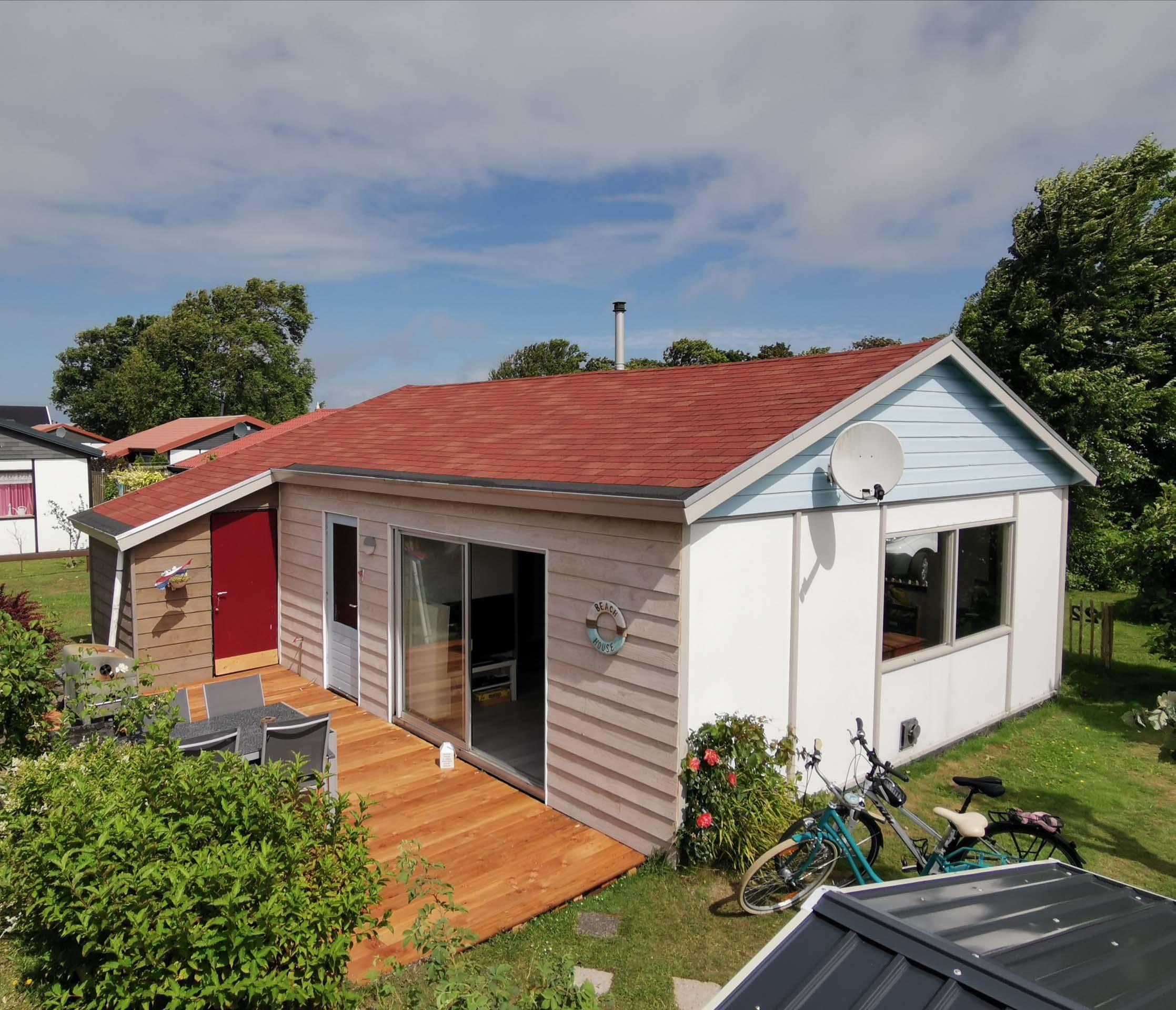 Unser Haus von der Terrassenseite