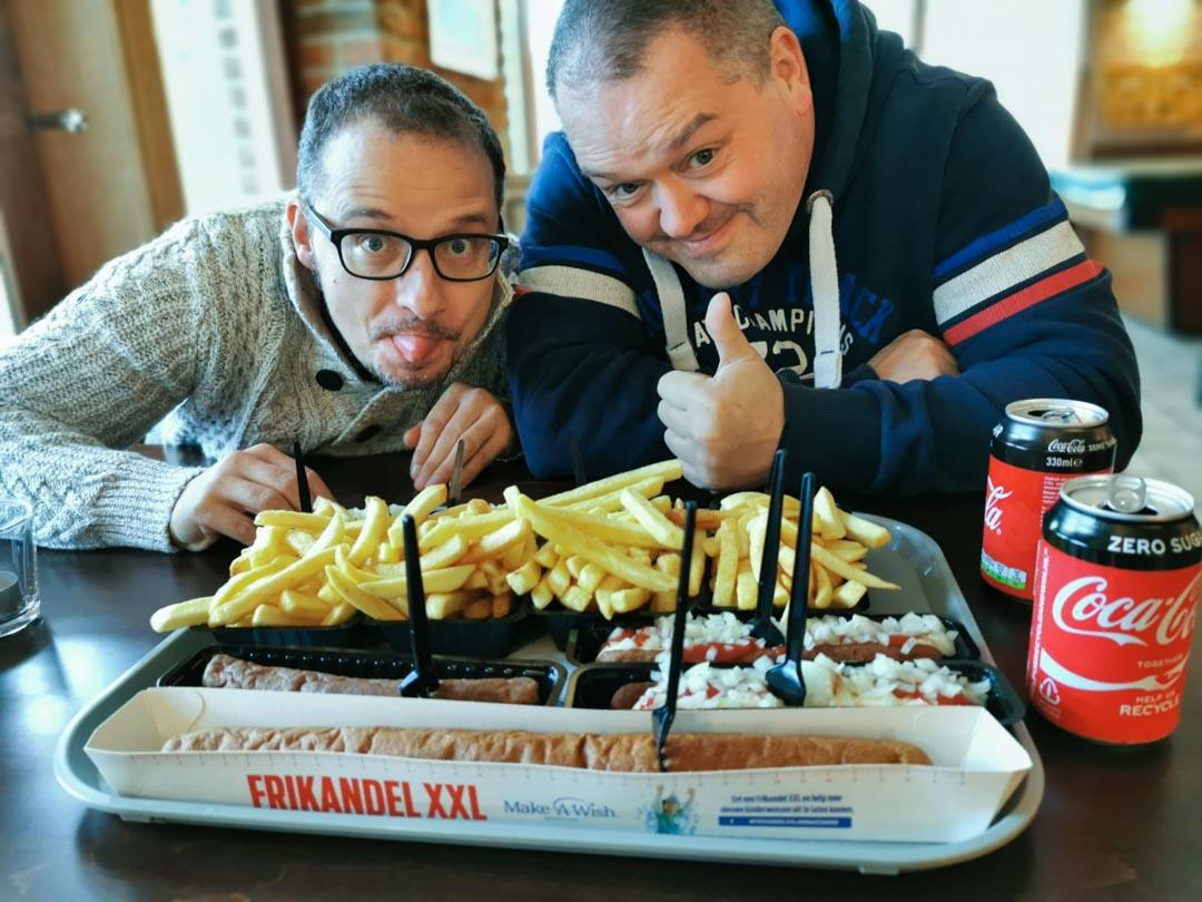Snacken muss in Holland sein.