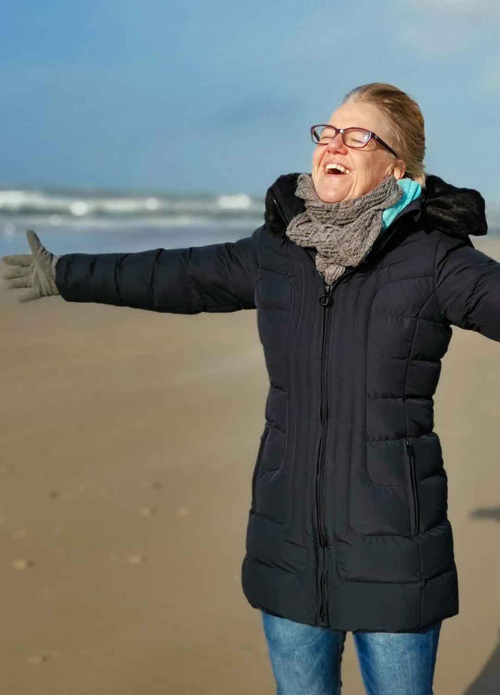 Strand genießen in Nordholland - Wind und Wetter
