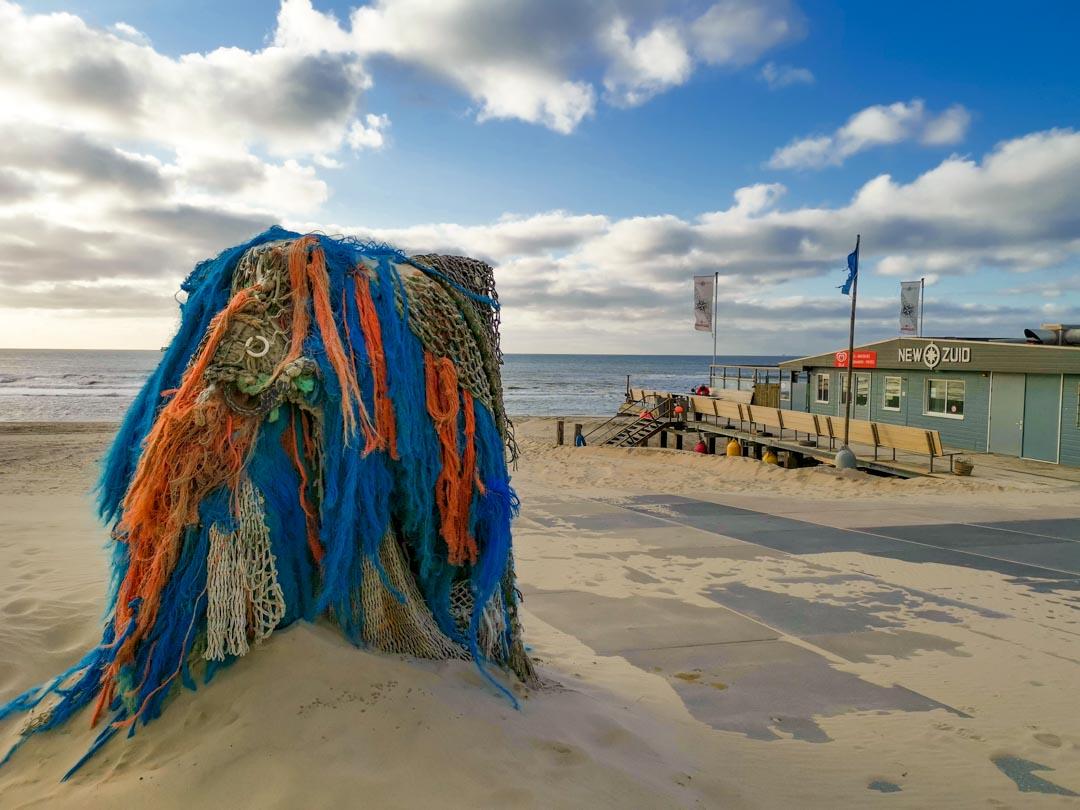 Skulptur Sint Maartenszee New Zuid