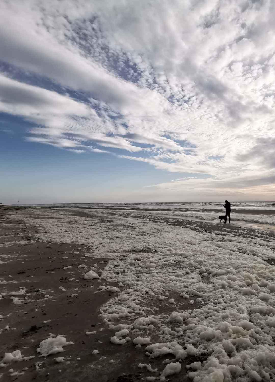 Magische Momente am Strand von Nordholland