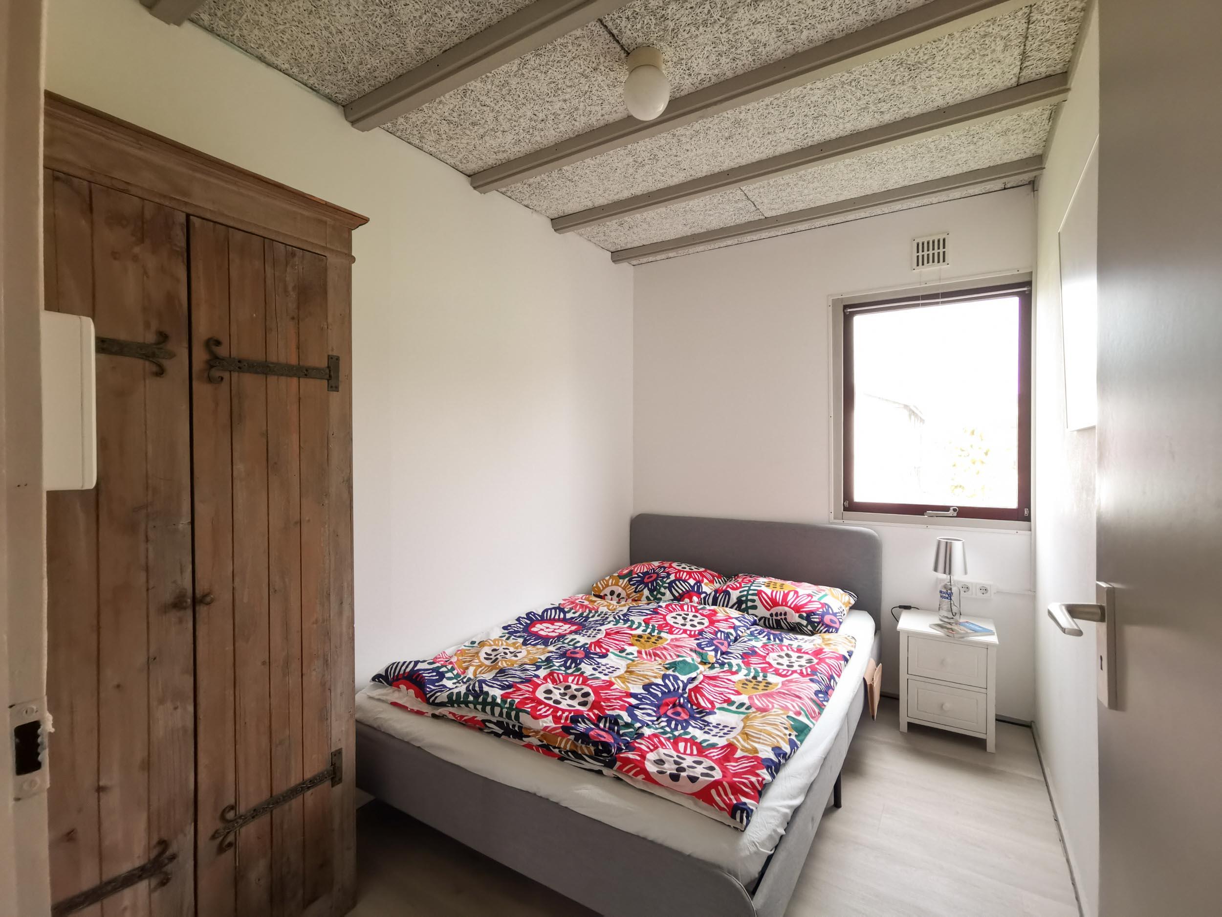 Schlafzimmer 1 Ferienhaus Nordholland Sint Maartenszee