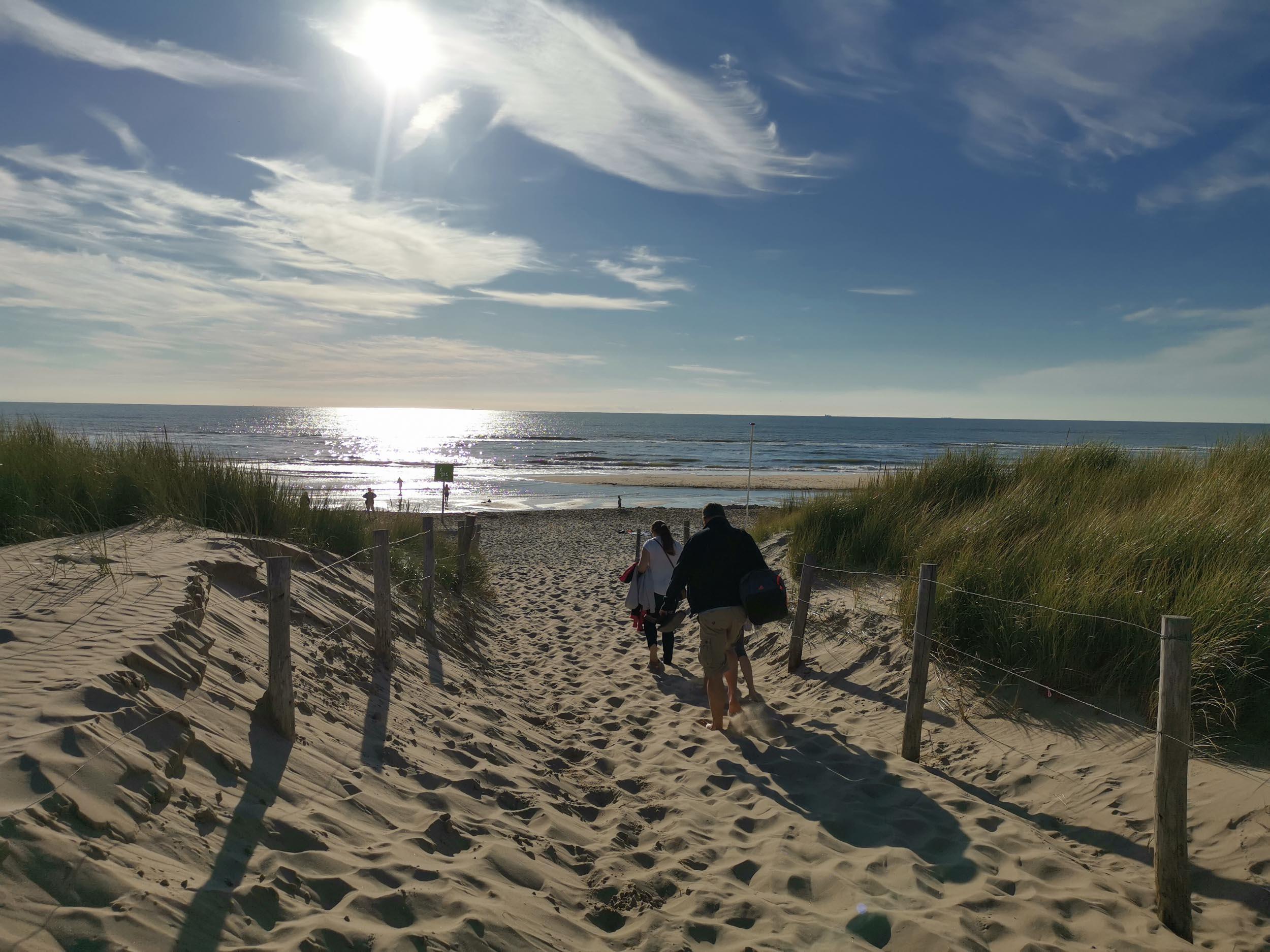 Renaturierter Strand zwischen Petten und Camperduin