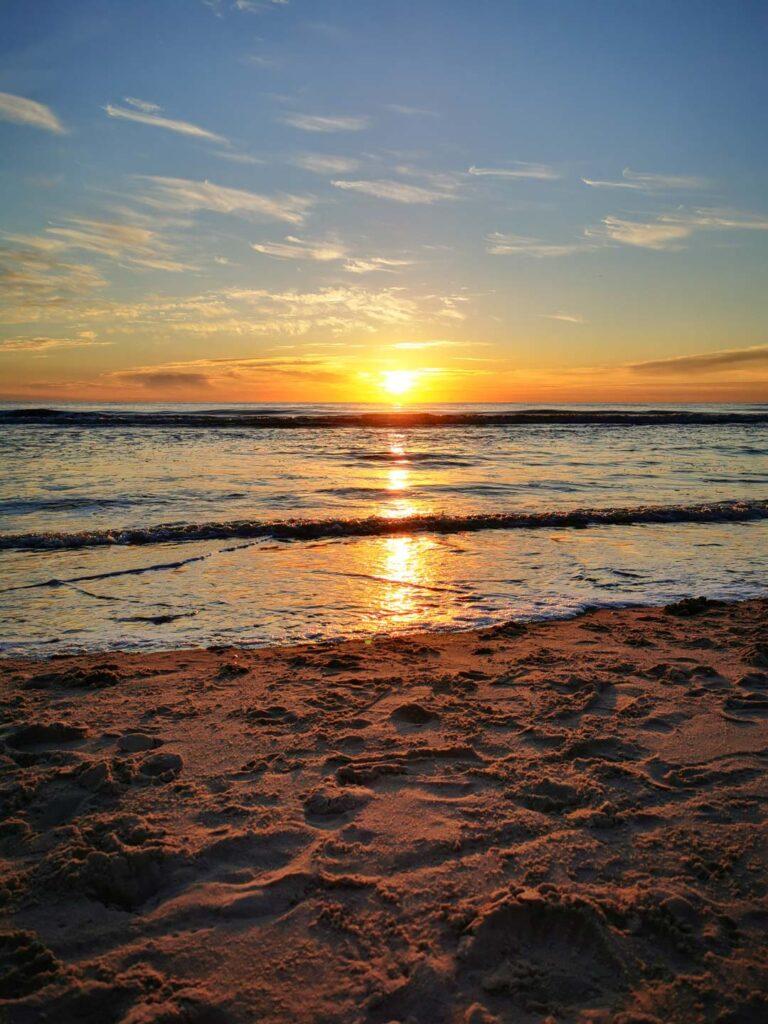 Sonnenuntergang Petten