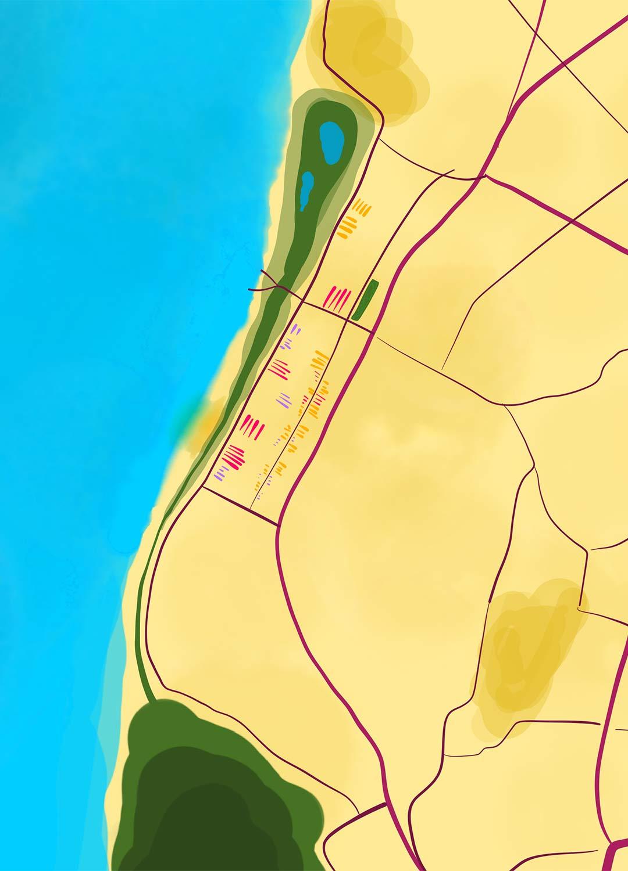 Map Nordholland Handyansicht