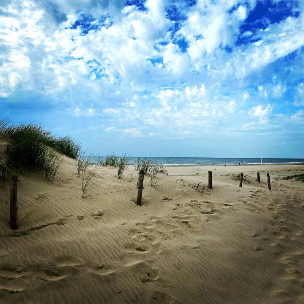 Strandidylle bei Petten